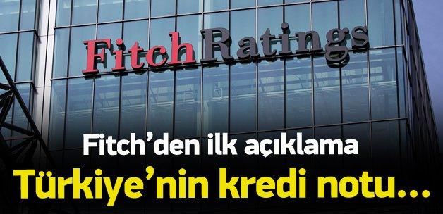 Fitch'den 1 Kasım değerlendirmesi