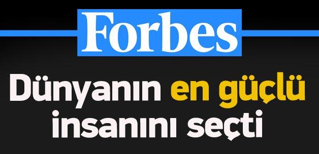 Forbes dünyanın en güçlü insanını seçti