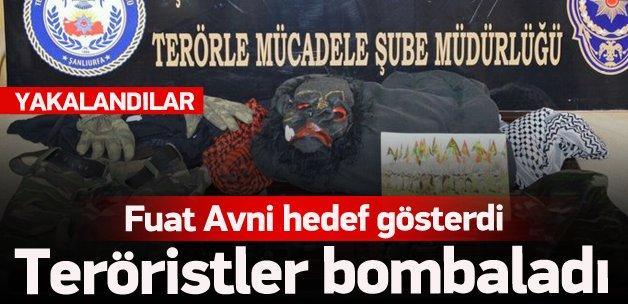 Fuat Avni hedef gösterdi: Teröristler bomba attı