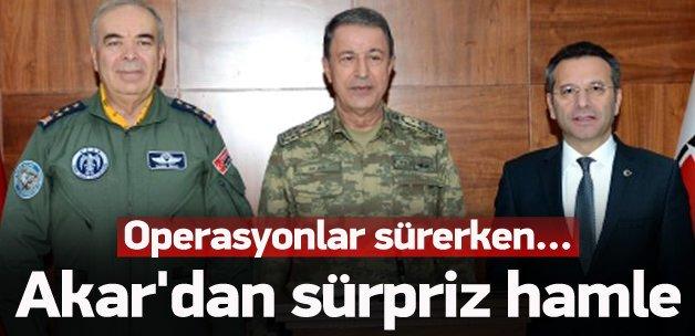 Genelkurmay Başkanı Akar Diyarbakır'da