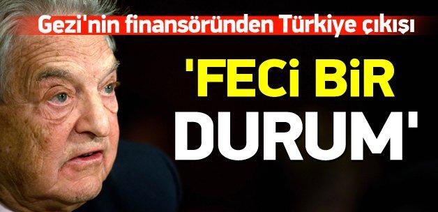 Gezi'nin finansöründen Türkiye'ye destek