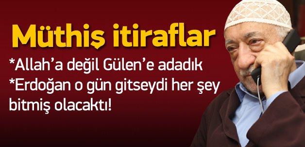 Gülen'in imamından müthiş itiraflar