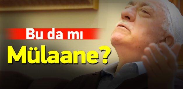 Gülen'in son videosu da mı mülaane?