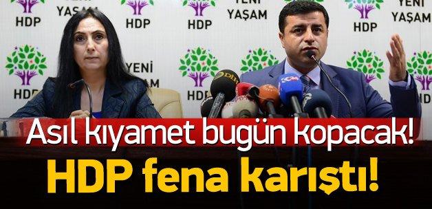 HDP'de Kürt vekiller kazan kaldırdı!