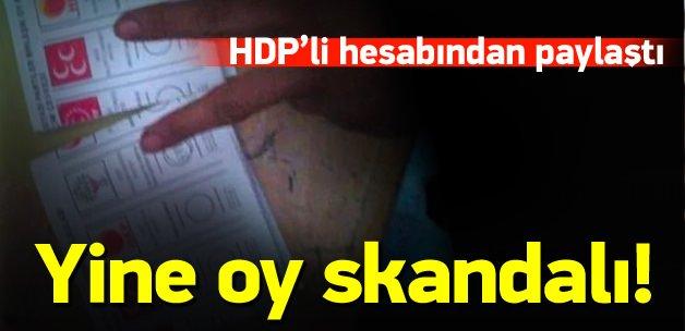 HDP'den yine oy kullanma skandalı!