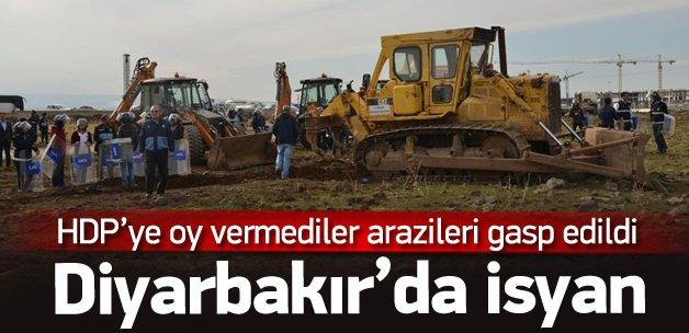 HDP'ye oy vermeyenlere arazisi gasp edildi