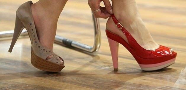 Her 6 kadından 1'i ayakkabıyı hatalı seçiyor