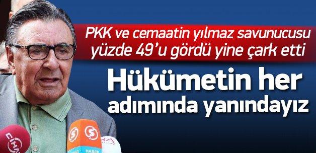 Hürriyet'ten hükümete: Her adımda yanınızdayız!