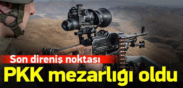 İkiyaka Dağları PKK için mezarlık oldu