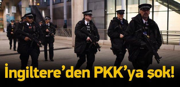 İngiltere'den PKK'ya darbe!