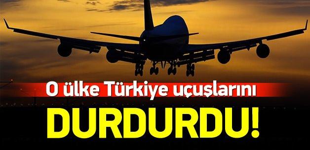 Irak, Türkiye uçuşlarını durdurdu