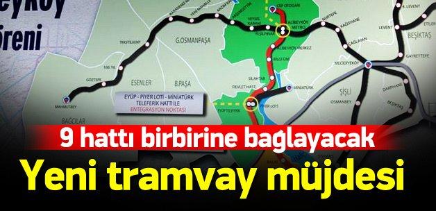 İstanbul'a dev bir tramvay hattı müjdesi daha