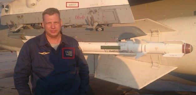 İşte düşürülen Rus uçağı ve pilotu