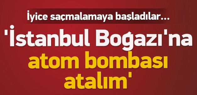 Jirinovski: İstanbul Boğazı'na atom bombası atalım