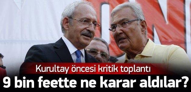Kılıçdaroğlu ile Baykal uçakta buluştu
