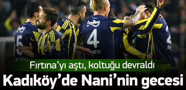 Koltuğun yeni sahibi Fenerbahçe