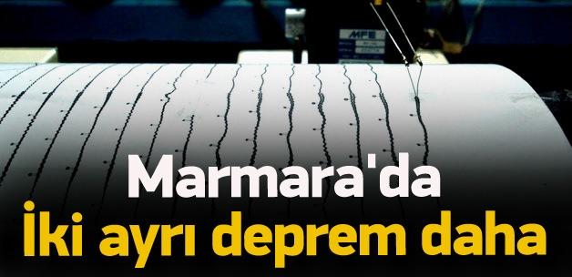 Marmara'da iki ayrı deprem daha