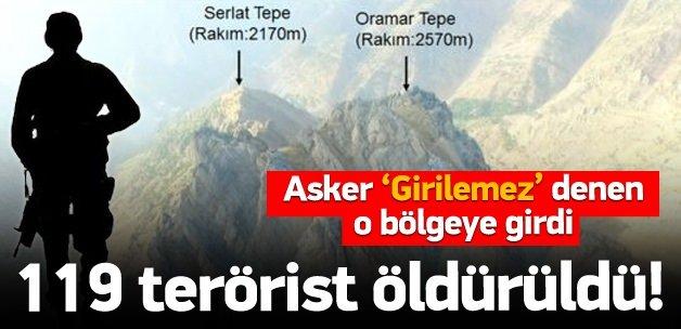 Mehmetçik girilmez denen bölgeye girdi!