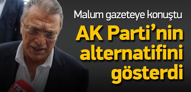 Mesut Yılmaz, AK Parti'nin altetnatifini gösterdi