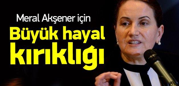 MHP'de 'Meral Akşener' hayalleri yıkıldı!