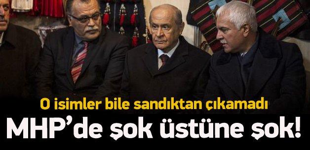MHP'de önemli isimler milletvekili seçilemedi!