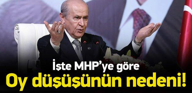MHP'den ilk 1 Kasım değerlendirmesi