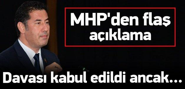 MHP'den 'Sinan Oğan' açıklaması