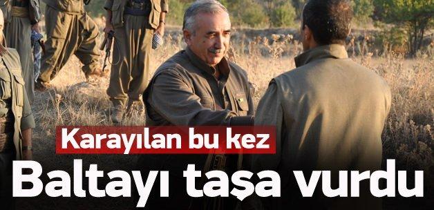 Murat Karayılan baltayı taşa vurdu