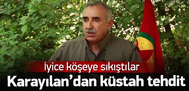 Murat Karayılan'dan küstah tehdit