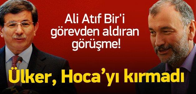 Murat Ülker, Davutoğlu'nu kırmadı