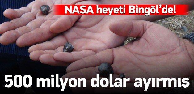 NASA heyeti Bingöl'de!