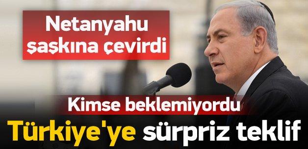 Netanyahu'dan Türkiye'ye sürpriz teklif