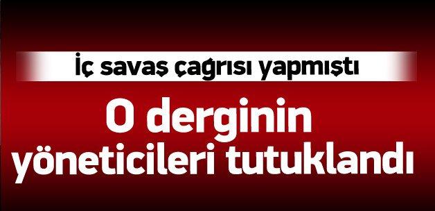 Nokta dergisi yöneticileri tutuklandı