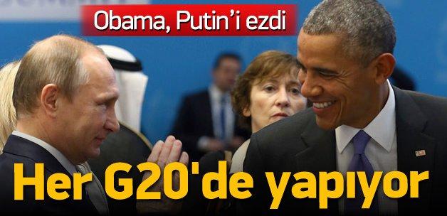 Obama yine aynısını yaptı