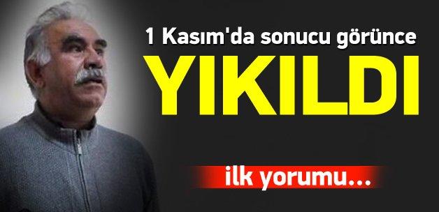 Öcalan'dan 1 Kasım yorumu: HDP başarısız