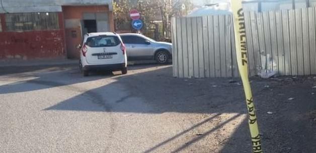 Öldürülen taksici, duvara böyle çarptı