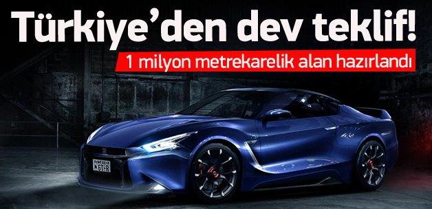 Otomotiv devi Türkiye'ye geliyor