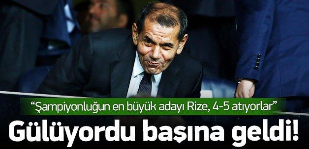 Özbek'in esprisi başına geldi! 'Rize 4-5 atıyor'