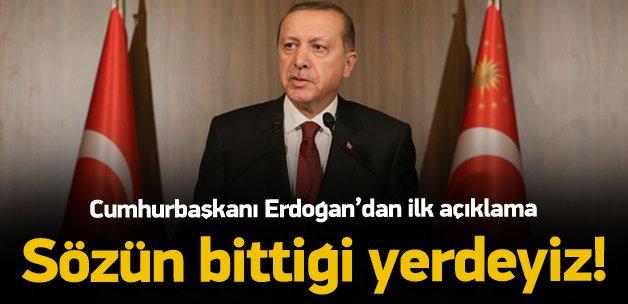 Paris'teki saldırılar sonrası Erdoğan'dan açıklama