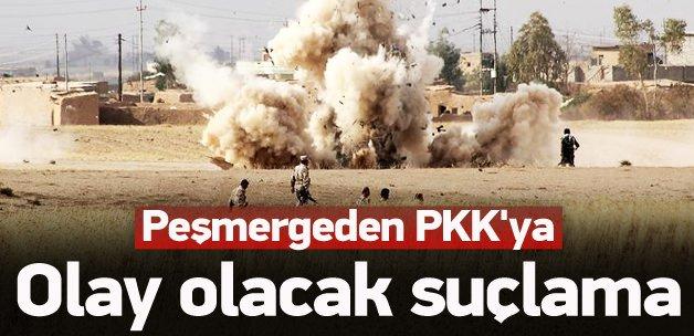 Peşmergeden PKK'ya olay suçlama