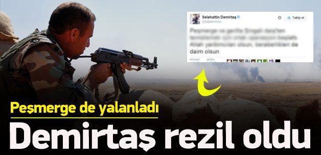 PKK'lı teröristler ve medyası rezil oldu