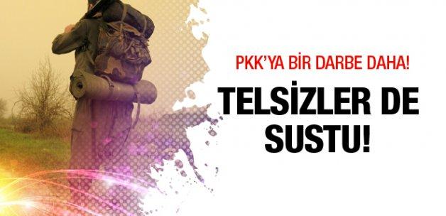 PKK'ya büyük bir darbe daha! Telsizler sustu
