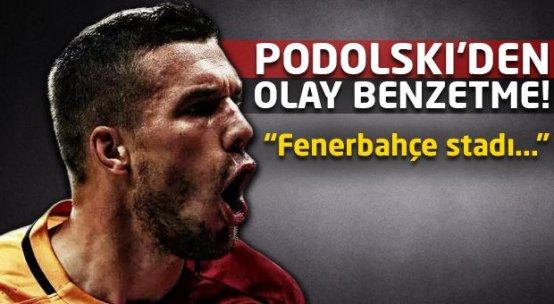 Podolski'den Fenerbahçe için olay benzetme!