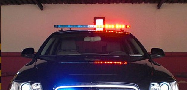 Polis araçlarının tepe lambaları akıllandı