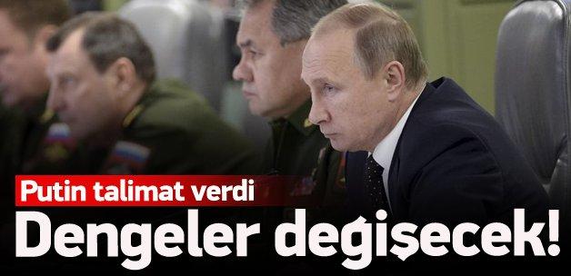 Putin'den dengeleri değiştirecek talimat