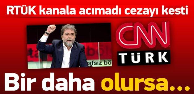 RTÜK, CNN Türk'e acımadı! Bir daha olursa...