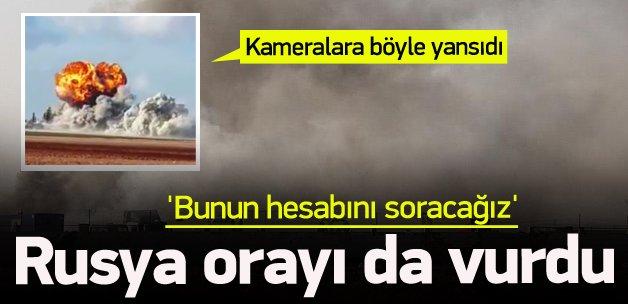 Rus jetleri İHH ekmek fırınını vurdu