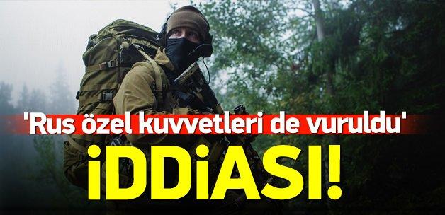 'Rus özel kuvvetleri de vuruldu' iddiası