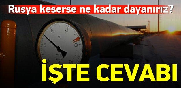 Rusya gazı keserse 14 gün dayanabiliriz