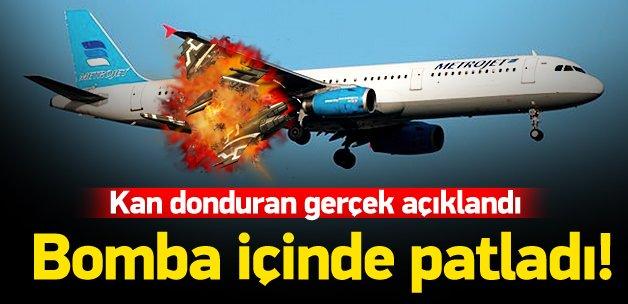 Rusya: Yolcu uçağını teröristler vurdu